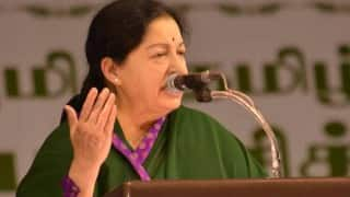 Tamil Nadu Chief Minister Jayalalithaa announces Rs.2 crore reward for Paralympics gold medallist