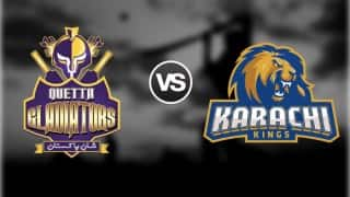 Quetta Gladiators vs Karachi Kings Pakistan Super League Free Live Cricket Streaming of PSL T20 2016 on YouTube