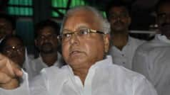 BJP claims Lalu Prasad flouted polls code, urges Election Commission to act