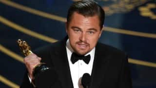 Oscar Awards 2016: Leonardo DiCaprio wins Best Actor for 'The Revenant'