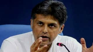 Former Union Minister Manish Tewari Stakes Claim to Congress Ticket From Chandigarh in Lok Sabha Polls