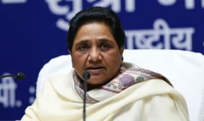 BJP government is branding JNU as anti-national to implement RSS agenda: Mayawati