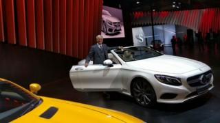 Auto expo 2016: Mercedes unveils GLC, S-Class Cabriolet