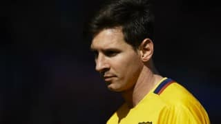 Lionel Messi back in Barcelona training after treating kidney problem