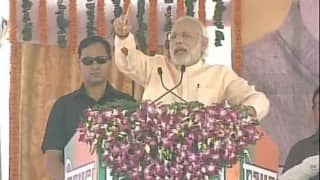 Farmers refuse to cut their crop prematurely for Narendra Modi's function