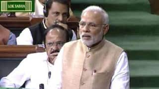 Budget Session 2016 Live News Updates: Smriti Irani hits back at Opposition during JNU debate in Lok Sabha; Congress stages walkout