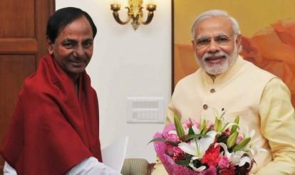 K. Chandrasekhar Rao meets Narendra Modi, seeks special development package