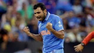 Mohammad Shami ruled out of Asia Cup, looks doubtful for World T20