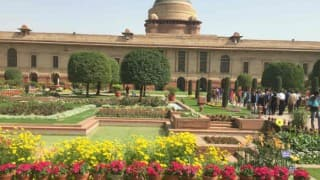 Mughal Gardens at Rashtrapati Bhavan open for public from Friday