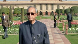President Pranab Mukherjee greets Gambia on national day
