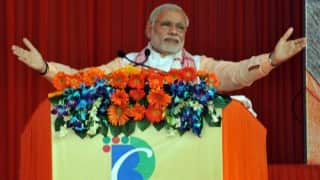 Narendra Modi launches Assam Assembly elections campaign, slams Congress for neglecting North-East