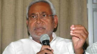Madhesi issue Nepal's internal matter: Nitish Kumar