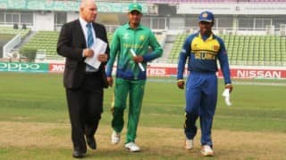 PAK U19 won by 23 runs | Live Cricket Score Updates Pakistan vs Sri Lanka ICC Under-19 World Cup 2016: SL U19 189/10 in 46.4 Overs (Target 213)