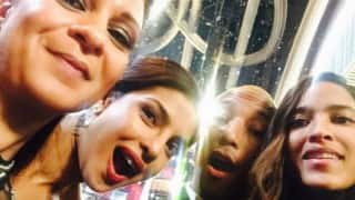 Oscar Awards 2016: Priyanka Chopra takes selfie with Pharrell Williams