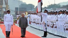 International Fleet Review: President Pranab Mukherjee, PM Narendra Modi inspect India's naval strength (View pics)