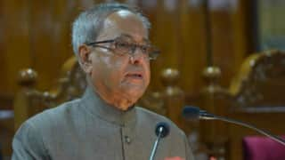 Pranab Mukherjee kicks off two-day Kerala visit on February 26