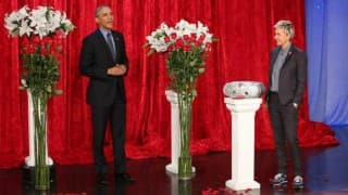 Valentine's Day Special: Barack Obama and Michelle Obama share adorable message on Ellen's show