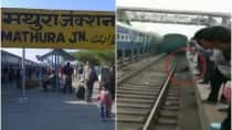 30-year-old man miraculously escapes death after being run over by Yuva Express train in Mathura!