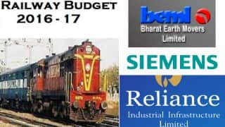 Expectations from railway budget buoy stocks of railroad firms