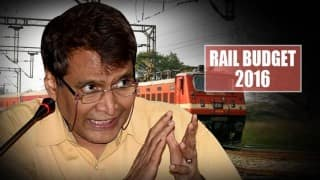 Railway Budget 2016 Live News Updates: Suresh Prabhu presents announces 4 new train services