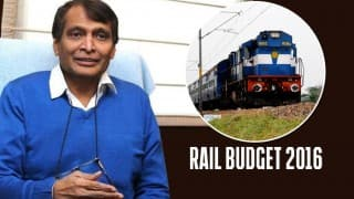 Railway Budget 2016: Suresh Prabhu expects revenue growth of over 10%, announces WiFi services at 100 stations