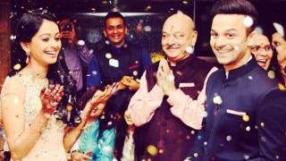 Satrangi Sasural pair Mugdha Chaphekar and Ravish Desai engaged! See pictures!