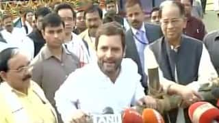 JNU row: RSS suppressing voice of Indian youth says, Rahul Gandhi