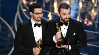Oscar Awards 2016: Sam Smith wins The Best Original Song for 'Writing's On The Wall'