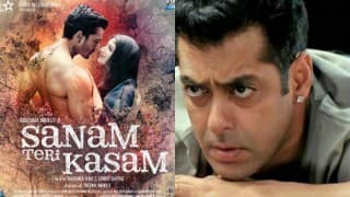 Salman Khan accuses Sanam Teri Kasam team of stealing his song