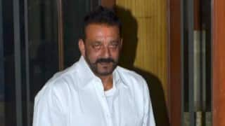Sanjay Dutt at BJP venue, eyebrows raised in political circles