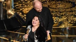 Oscar Awards 2016: Sharmeen Obaid-Chinoy win award for Best Documentary-Short Subject for 'A Girl in the River: The Price of Forgiveness'