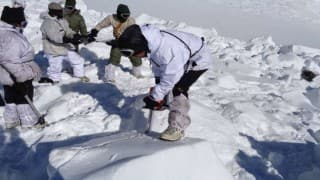 As Hanumanthappa's last rites will be held today, mortal remains of 9 soldiers yet to be airlifted from Siachen