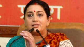All have right to say 'Bharat Mata Ki Jai': Smriti Irani