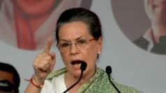 Sonia Gandhi arrives in Rae Bareli on two-day visit