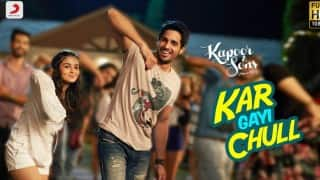 Sidharth Malhotra-Alia Bhatt's `Kar Gayi Chull` crosses 1million views overnight