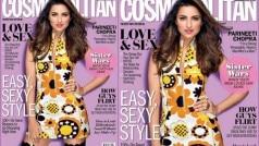 Parineeti Chopra looks sexy in floral print on Cosmopolitan magazine cover!