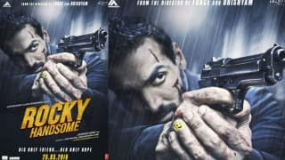 John Abraham's lethal look will blow your mind in Rocky Handsome's new poster