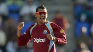 Sunil Narine grabs two wickets with new action in comeback