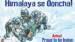 Siachen Miracle: Amul pays utmost respect to avalanche survivor Lance Naik Hanumanthappa