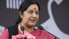 Romas are India's children: Sushma Swaraj