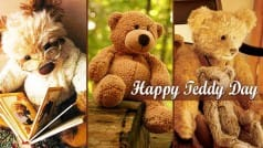 Happy Teddy Day 2016: Best Images, Pictorial Messages & Wallpapers to wish Happy Teddy Day to your valentine