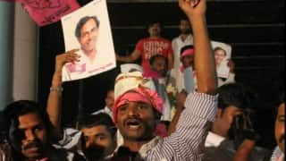 GHMC Election Results 2016: TRS marks landslide victory with 102 seats, AIMIM wins 42, TDP, BJP and Congress decimated