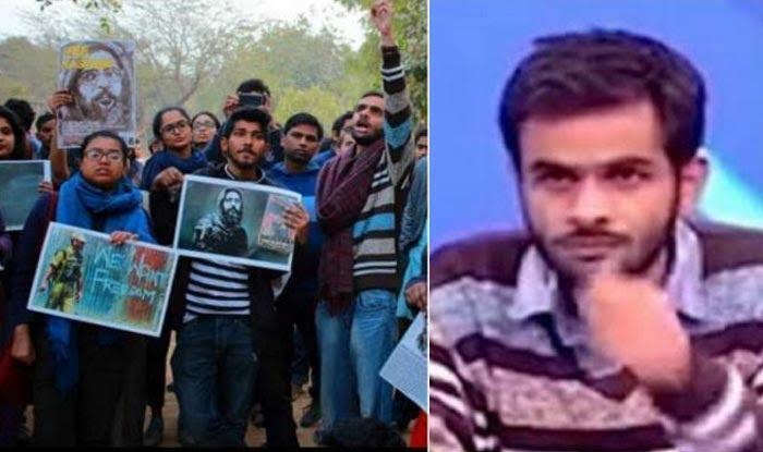 उमर खालिद ने हिन्दू देवी-देवताओं की नग्न तस्वीरें JNU कैम्पस में लगाईं थीं: दिल्ली पुलिस