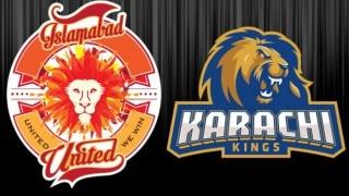 United won by 2 wkts | Live Cricket Score Updates Pakistan Super League (PSL) T20 2016 Islamabad United vs Karachi Kings