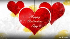Happy Valentine's Day 2016 Wishes: Best Valentine's Day SMS, Quotes, WhatsApp & Facebook Messages to send your Valentine Happy Valentine's Day greetings!
