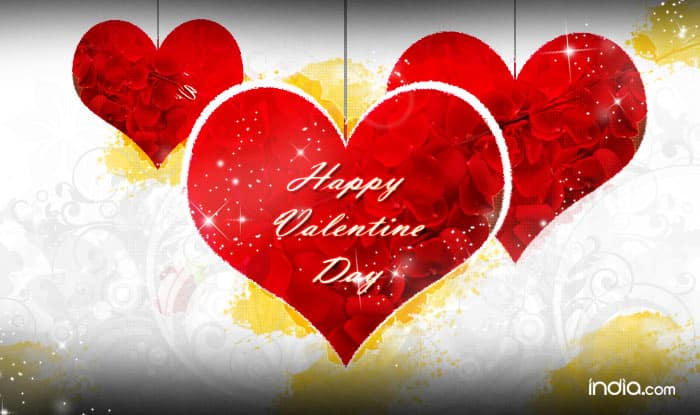Happy Valentineu0027s Day 2016 Wishes: Best Valentineu0027s Day SMS, Quotes,  WhatsApp U0026 Facebook