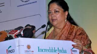 Genetically Modified crop not allowed in Rajasthan, farmers for organic farming: Vasundhara Raje