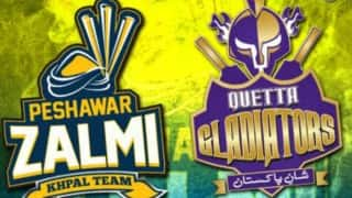 Quetta Gladiators vs Peshawar Zalmi Pakistan Super League: Watch Free Live Cricket Streaming of PSL T20 on PTV Sports, Ten Sports & Geo Super