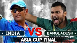 India vs Bangladesh 2016 Asia Cup final preview: MS Dhoni's side start out as favourites as hosts chase maiden title win