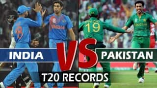 India vs Pakistan, ICC T20 World Cup 2016: A look at match facts & records of IND vs PAK in T20s